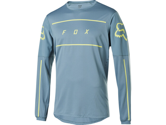 Fox Flexair Fine Line LS Jersey Herre light blue